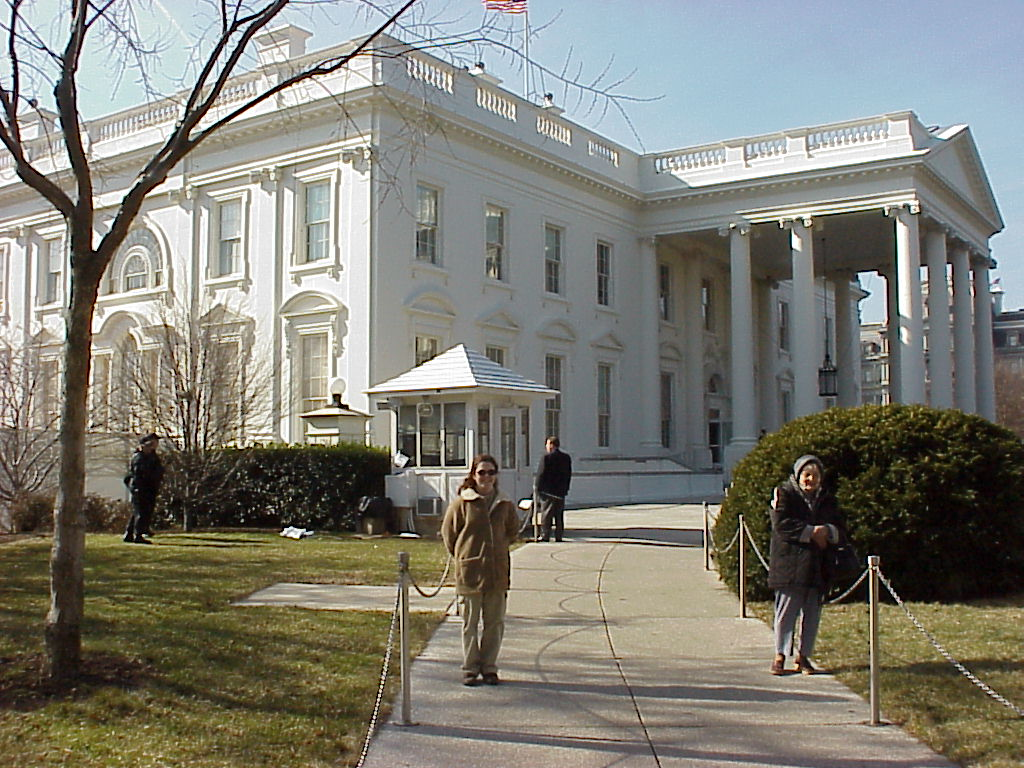 The white house 2001 photo gallery 1 for Outside view of house